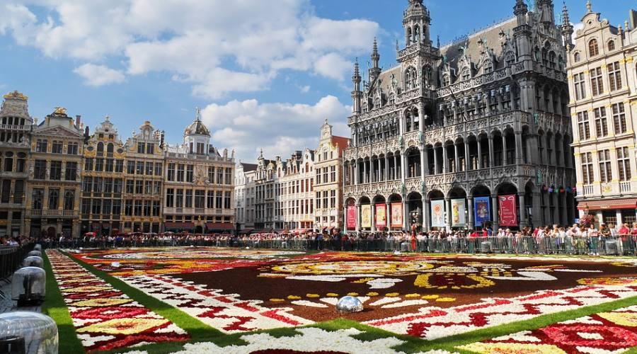 La Grand Place di Bruxelles