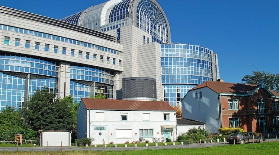 Il Parlamento europeo di Bruxelles