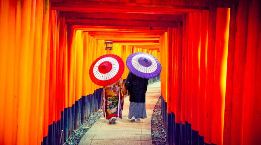 Il Tempio Fushimi Inari di Kyoto