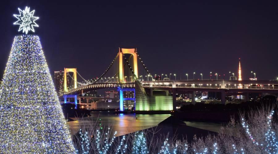 Festeggiamenti a Tokyo per il Capodanno