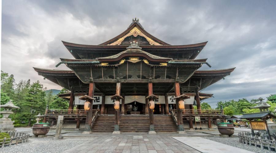 Il Tempio Zenko-ji a Nagano