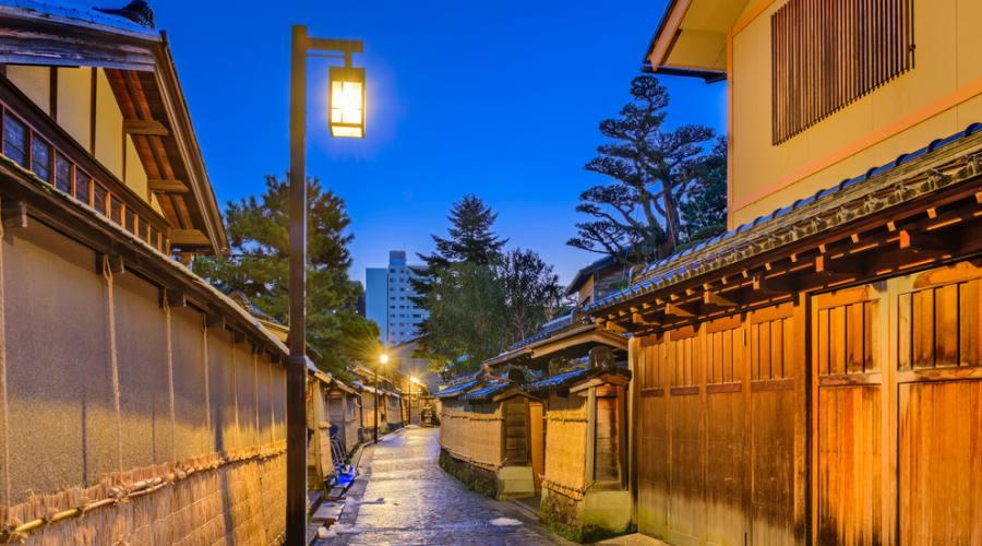 Il distretto dei Samurai a Kanazawa