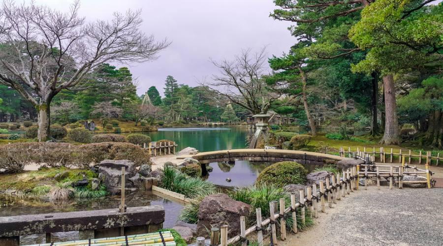 Il Giardino Kenroku-en a kanazawa