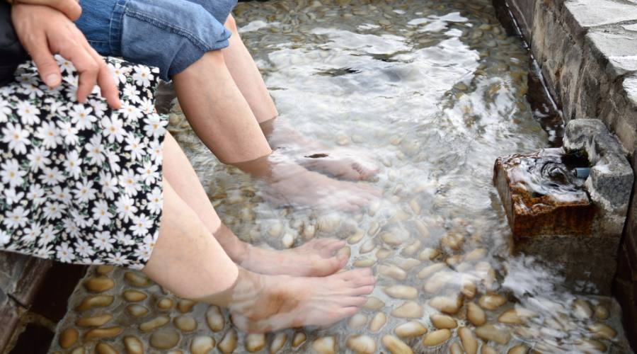 Le Ashiyu (foot spa)