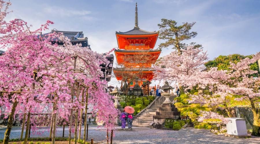 Il tempio Iyomizu-Dera Kyoto