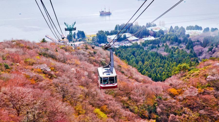 La funivia di Hakone sul Monte Komagatake