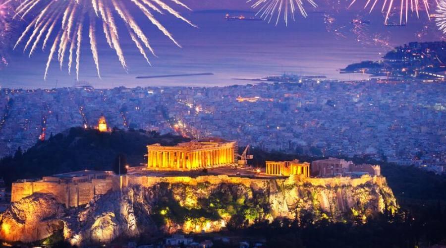 capodanno Atene