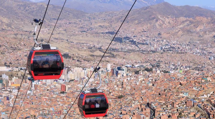Funivia a La Paz