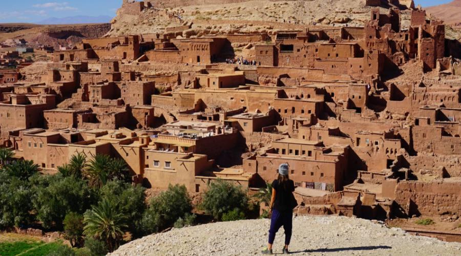 Il villaggio di Ait Benhaddou, a Ouarzate.