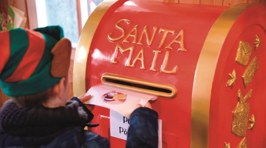 A casa di Babbo Natale - Montreux Natale copyright