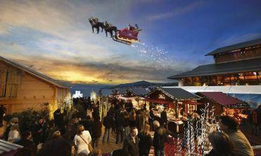 Incontro con Babbo Natale ai Mercatini di Natale svizzeri