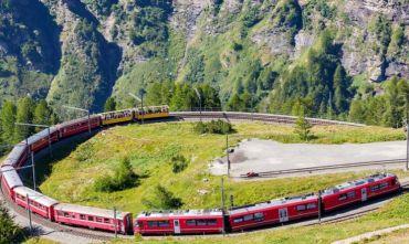 A bordo del Bernina Express per il Ponte del Primo Novembre
