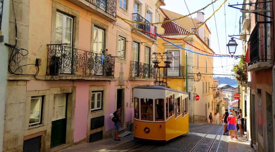 Lisbona e i suoi tram