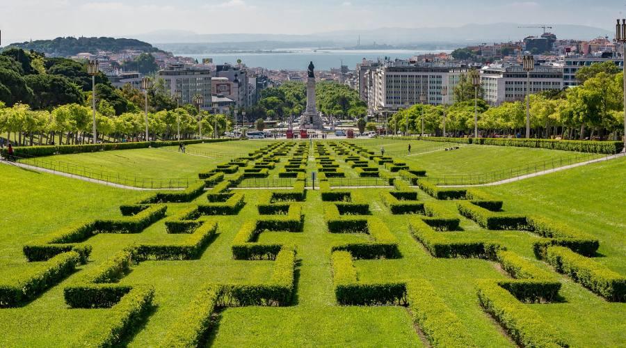 Lisbona, Parque Eduardo VII