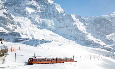 Capodanno in vetta alle Alpi Svizzere, con la ferrovia della Jungfrau
