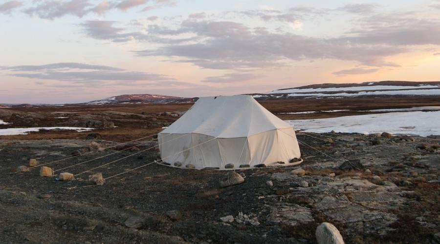 Tradizionale tenda inuit