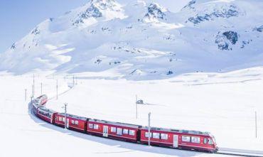 Capodanno sulla neve con il Trenino Rosso del Bernina e le carrozze trainate da cavalli