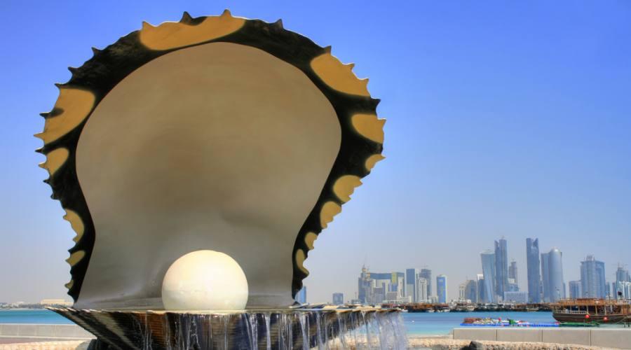 Monumento simbolo di Doha