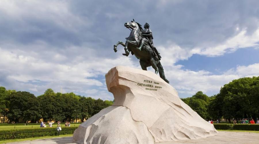 San Pietroburgo - Statua equestre di Pietro il Grande