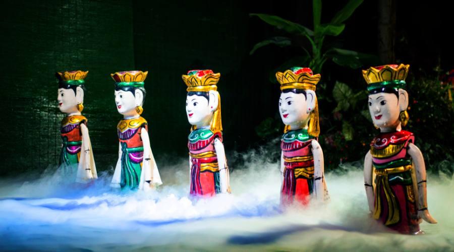 Hanoi lo spettacolo delle marionette d'acqua