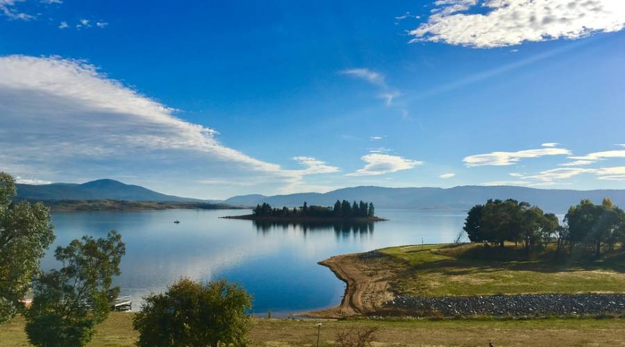 Lago nel Kosciuszko National Park