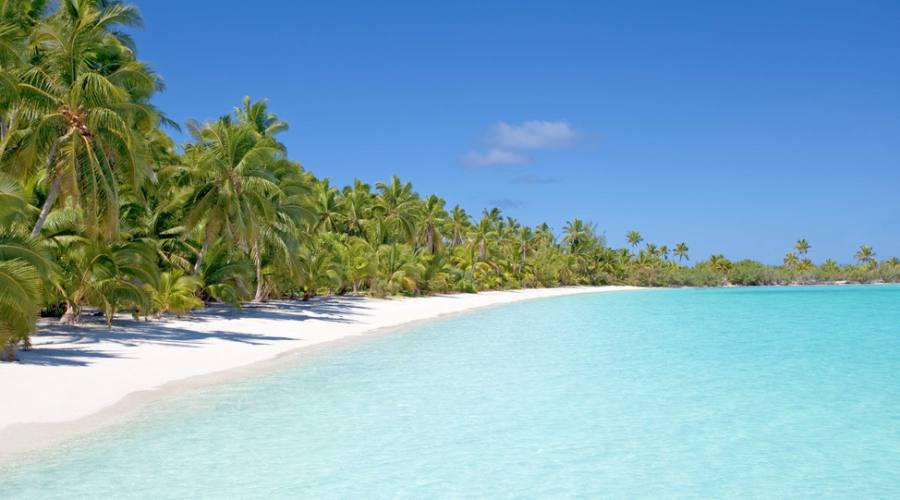 Spiaggia Cook Island