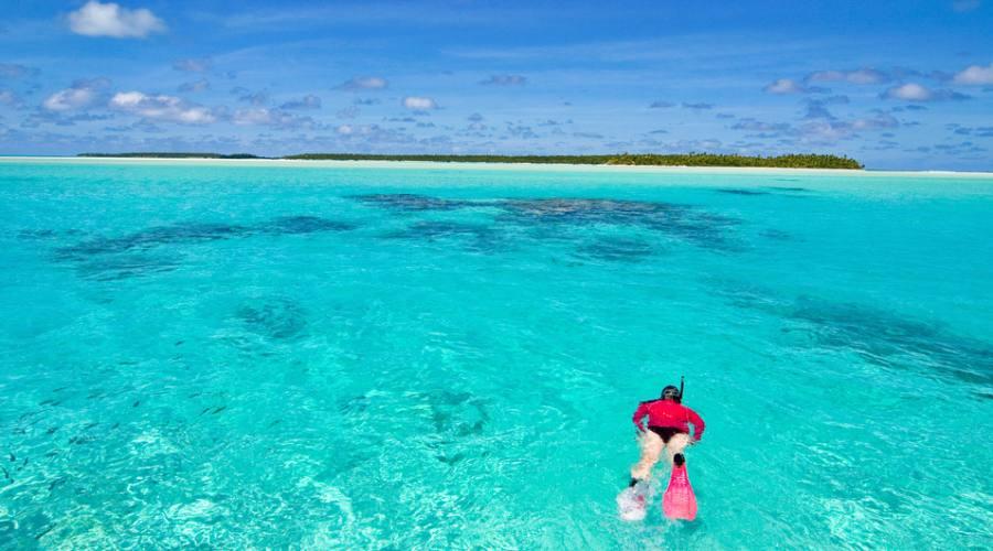 Snorkling ad Aitutaki