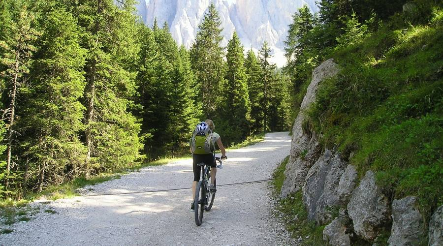 Percorso in bici