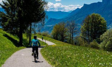 In bici sui più bei percorsi dell'Alto Adige