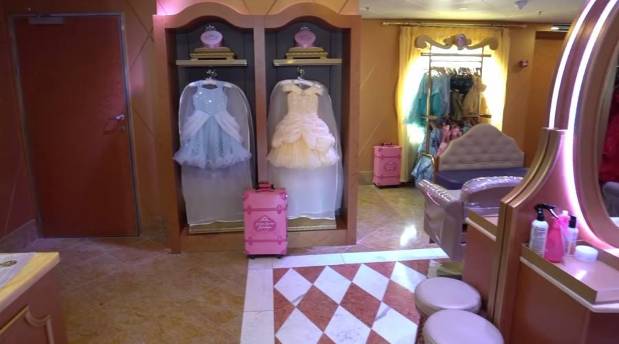 Un'area dedicata alle piccole principesse