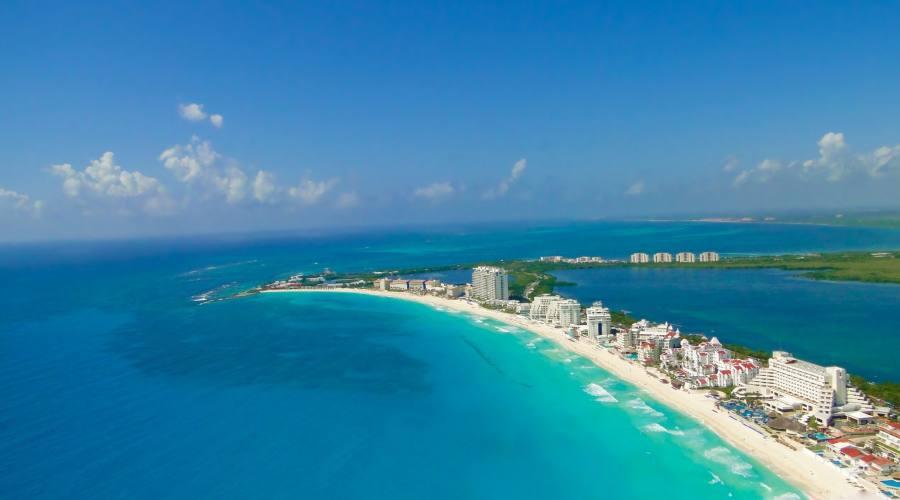 arrivo a Cancún