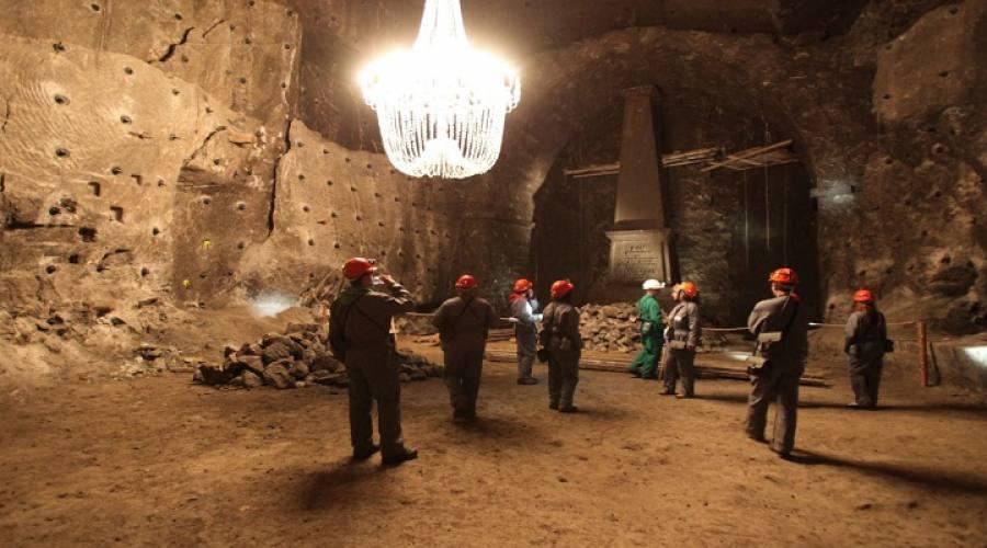 percorso minerario
