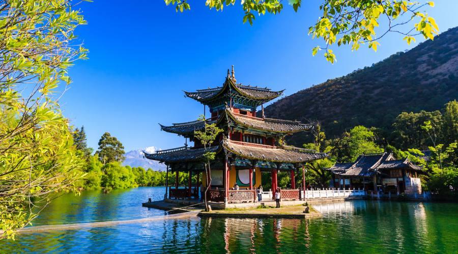 Lijiang Lago del Drago nero