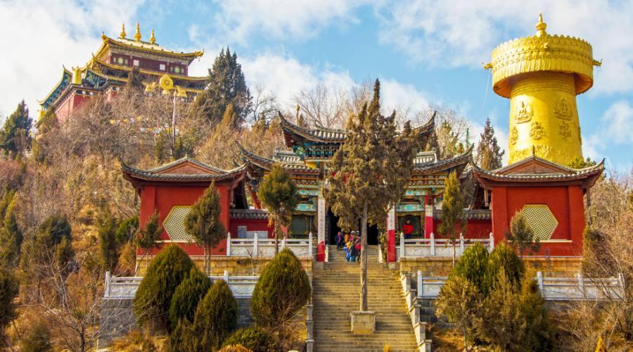 Shangri-là Tempio Tibetano
