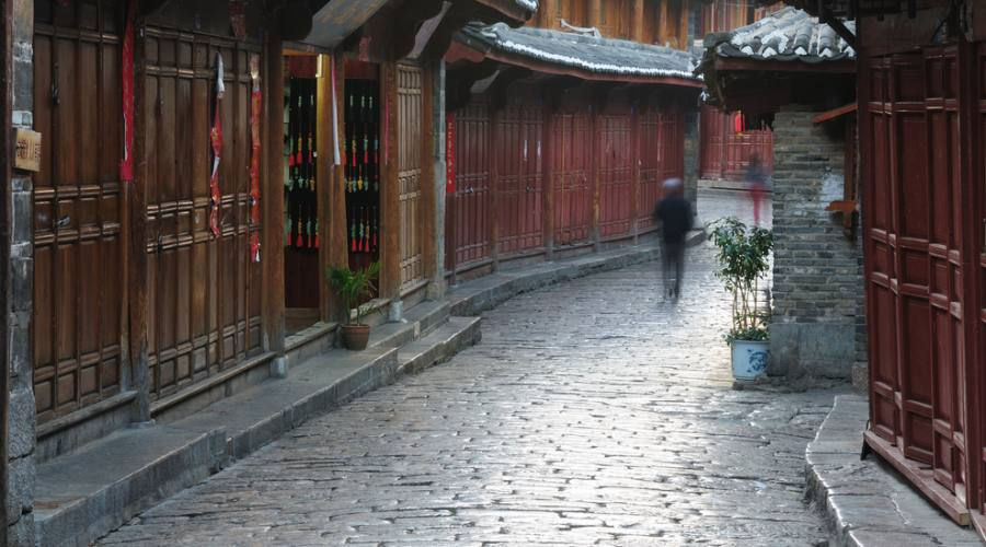 Lijiang Cina Città Vecchia