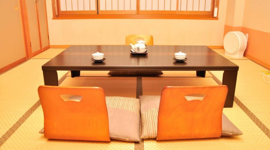 L'interno di un Ryokan