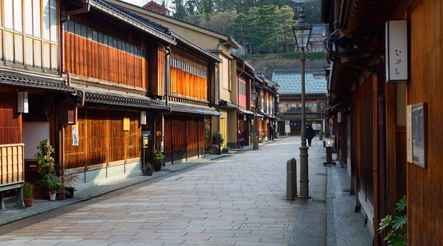 Kanazawa, vie cittadine