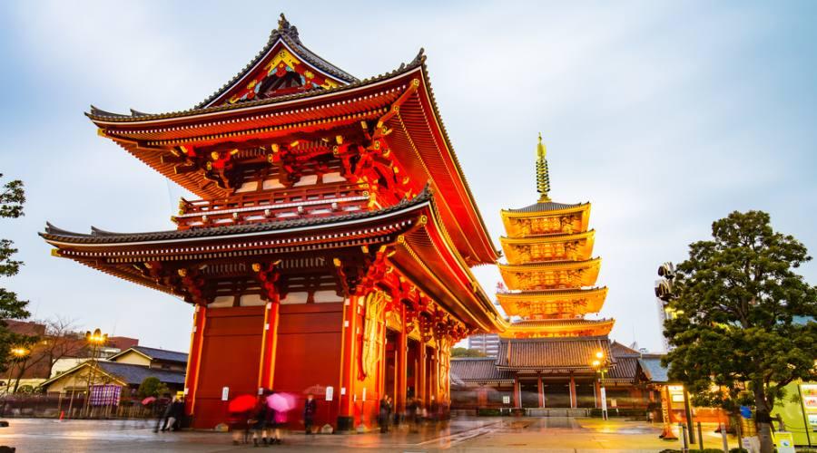 Tokyo - Tempio Senso-ji