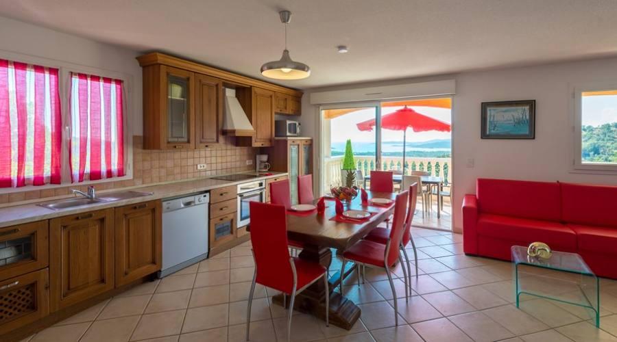 cucina e terrazza