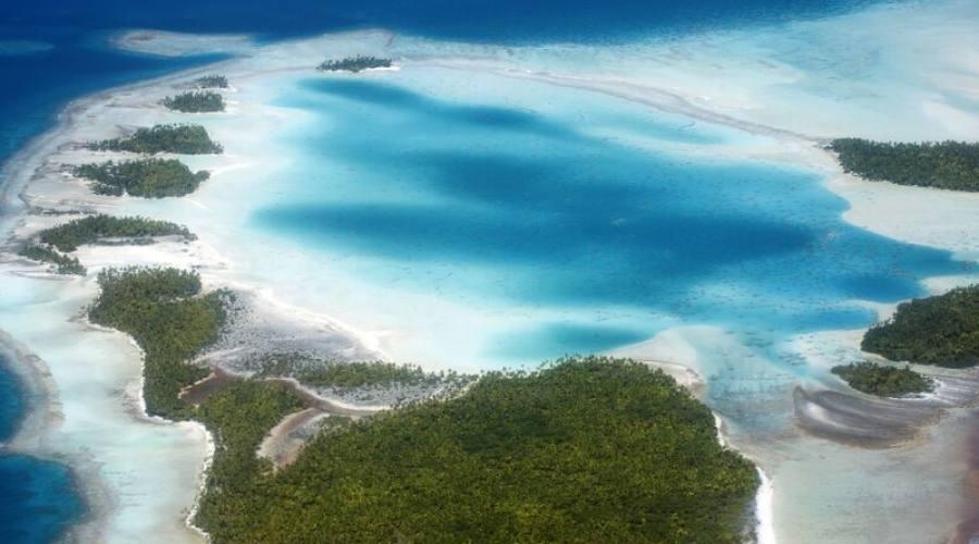 vista aerea atolli