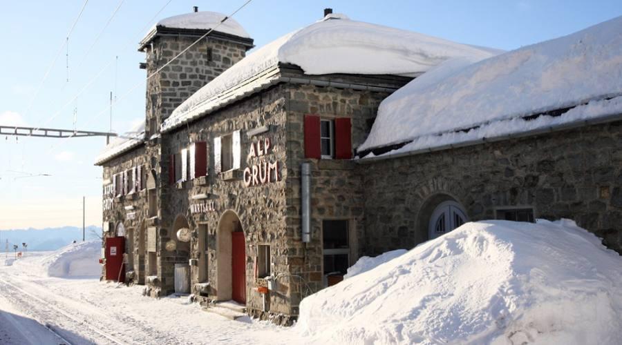 Alp Grum inverno