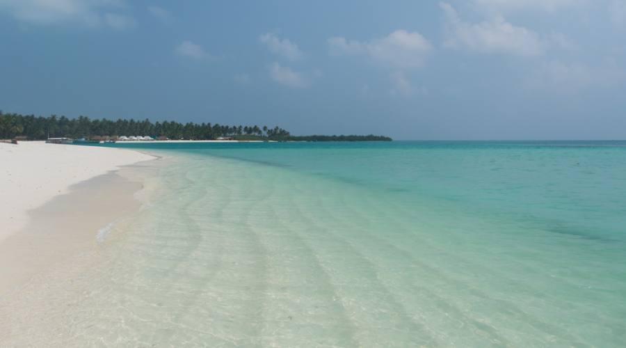 il mare delle Laccadive, Bangaram island