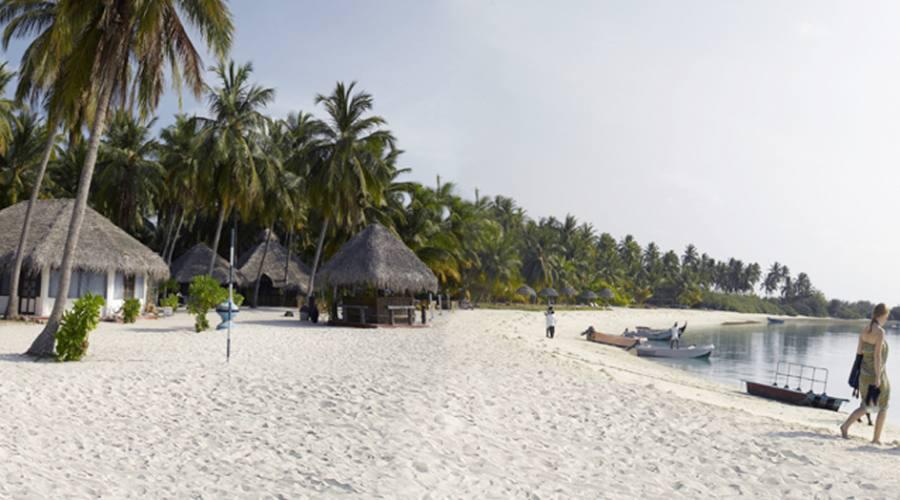 Bangaram Resort, la spiaggia