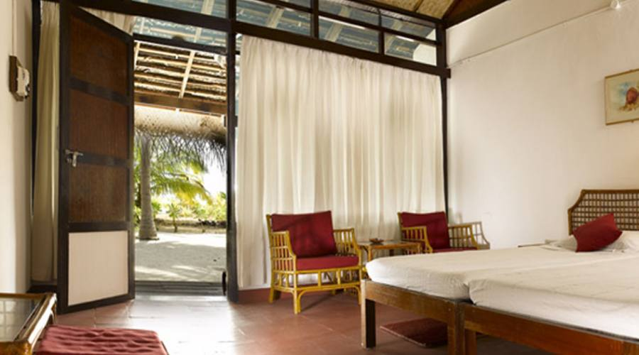 Bangaram Resort, beach cottage