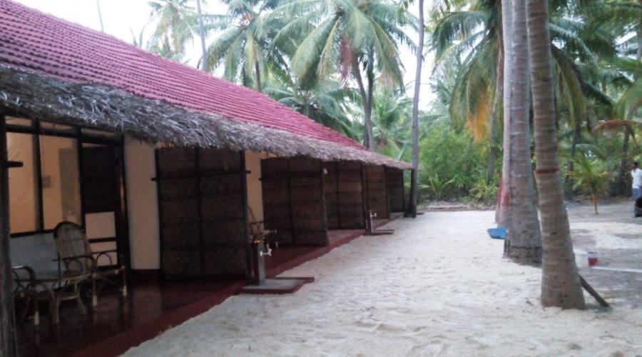 Bangaram Resort, esterno delle camere
