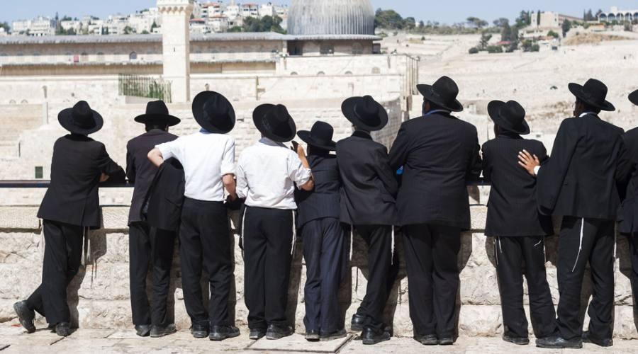 Ortodossi a Gerusalemme