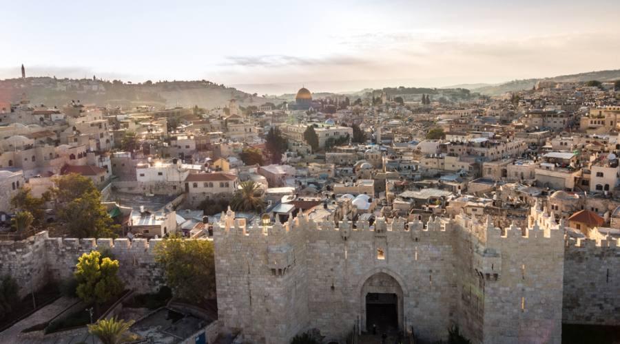 Panorama di Gerusalemme