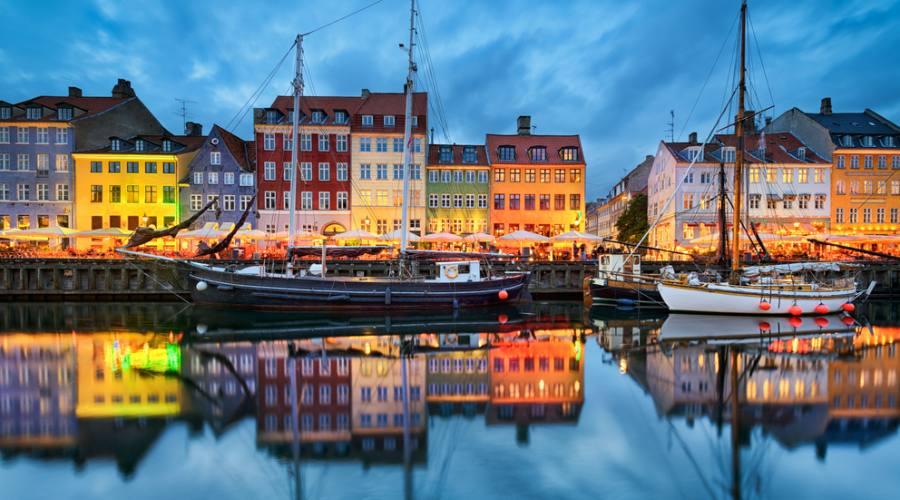 Nyhavn in Copenaghen