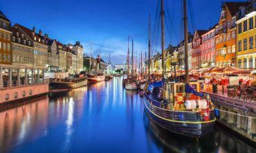 La capitale della Danimarca e il sud della Svezia