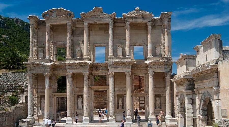 La biblioteca di Celso di Efeso